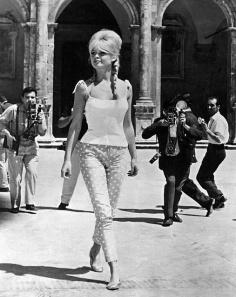 Brigette Bardot in her Ballet Flats